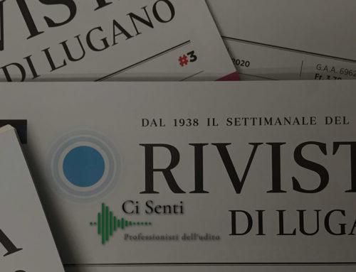 Inserzioni Ci Senti sulla Rivista di Lugano