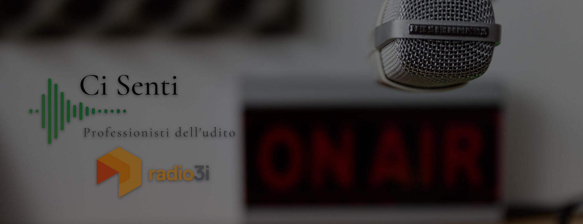 Spot Ci Senti su Radio 3i
